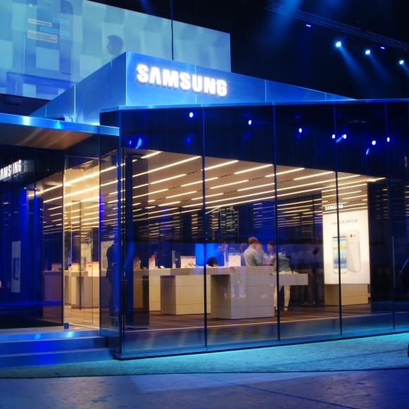 Samsung PIN London Earls Court 2012: Projektmanagement und -steuerung, Kostenmanagement, Realisierung (für hvs)
