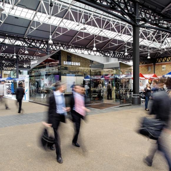 Samsung PIN London Spitalfield 2012: Projektmanagement und -steuerung, Kostenmanagement, Realisierung (für hvs)