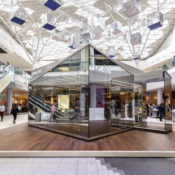 Samsung PIN London Westfield 2012: Projektmanagement und -steuerung, Kostenmanagement, Realisierung (hvs)