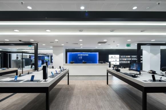 Samsung Madrid 2017: Projektmanagement und -steuerung, Kostenmanagement, Realisierung (für hvs)
