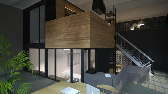 Schmiedehof 2016: Projektmanagement & -steuerung für Privathaus Umbau, Kostenmanagement, Realisierung