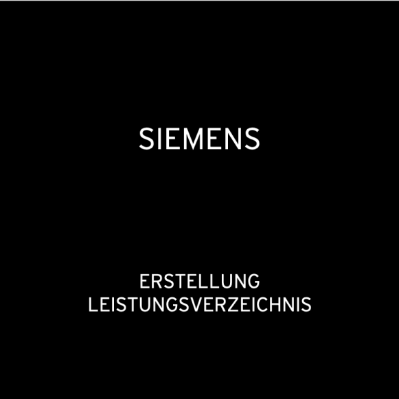 Siemens BSH Home Appliance China 2015: Erstellung Leistungsverzeichnis Siemens Messebaustand in Shanghai & Shenzhen (für raumHOCH)